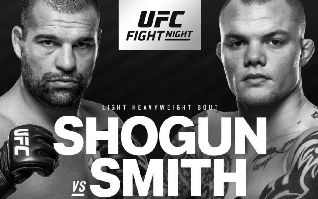 UFC Fight Night 134 – Shogun vs. Smith – Betting Predictions