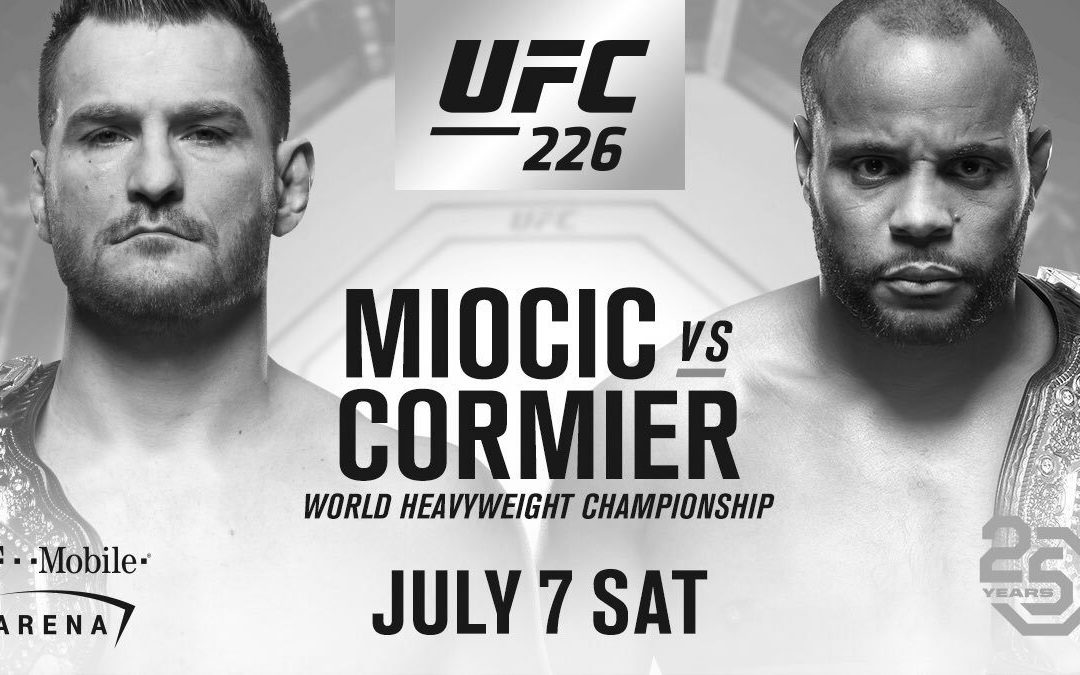 UFC 226 – Cormier vs. Miocic – Betting Predictions