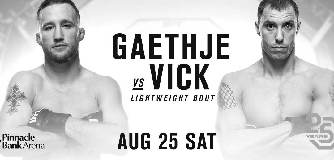 UFC Fight Night 135 – Justin Gaethje vs. James Vick – Betting Predictions
