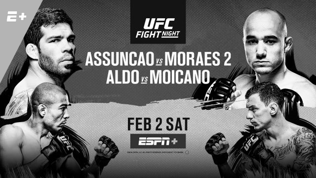 UFC Fight Night 144 – Raphael Assuncao vs. Marlon Moraes 2 – Betting Predictions