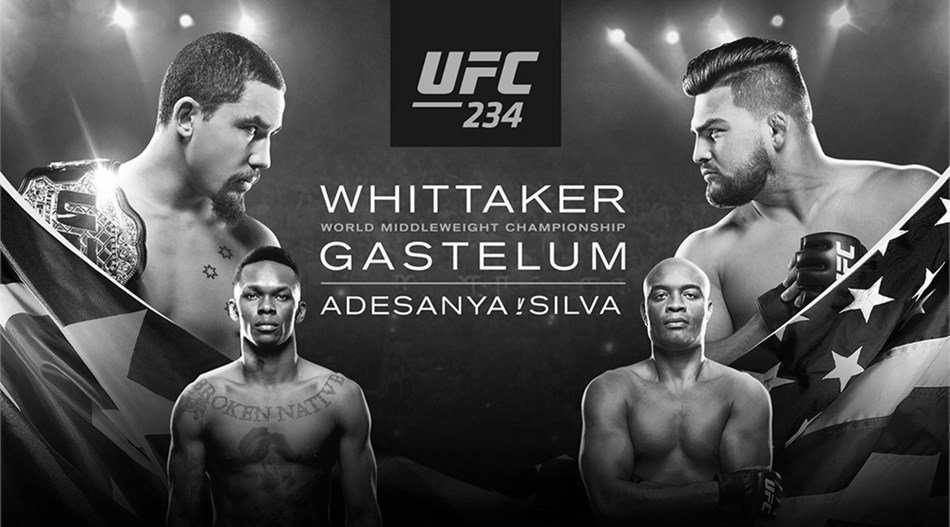 UFC 234 – Robert Whittaker vs. Kelvin Gastelum – Betting Predictions