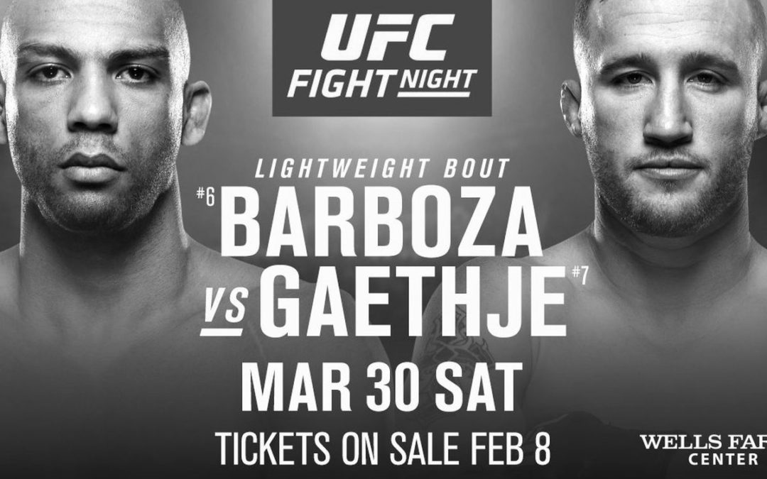 UFC on ESPN 2 – Edson Barboza vs. Justin Gaethje – Betting Predictions