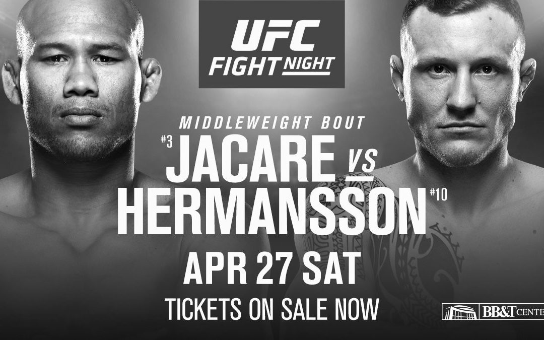 "UFC Fight Night 150 – Ronaldo ""Jacare"" Souza vs. Jack Hermansson – Betting Predictions"