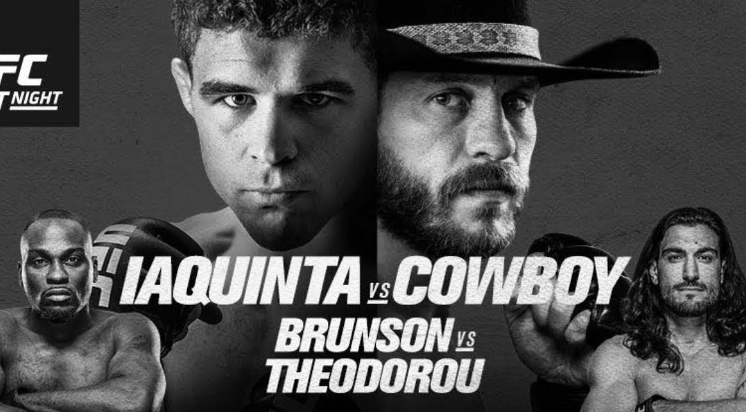 UFC Ottawa Event Poster