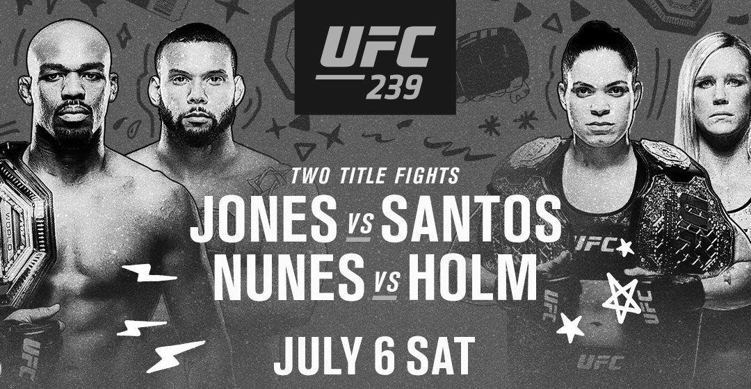 UFC 239 – Jon Jones vs. Thiago Santos – Betting Predictions