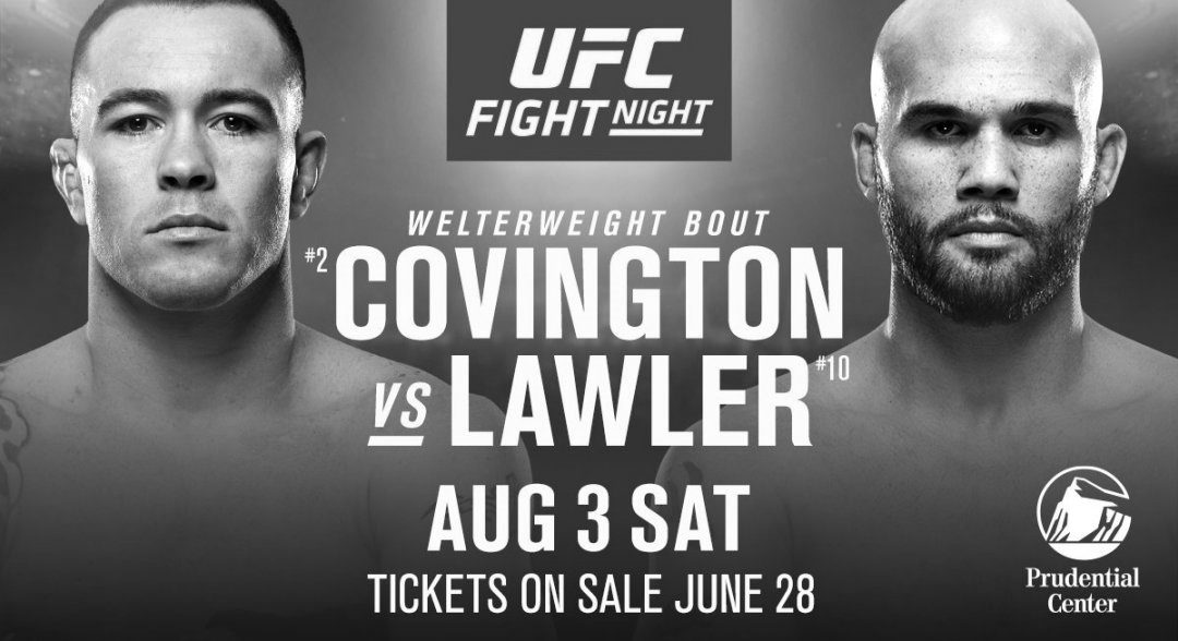 UFC on ESPN 5 – Colby Covington vs. Robbie Lawler – Betting Predictions