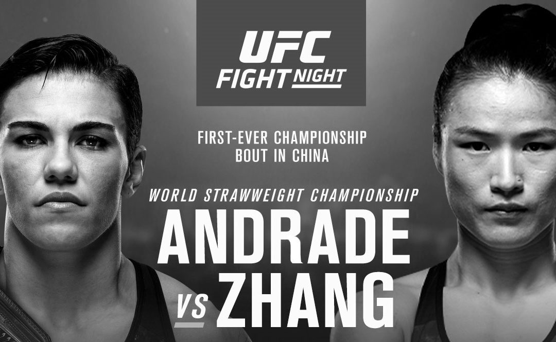 UFC Fight Night 157 – Jessica Andrade vs. Weili Zhang – Betting Predictions