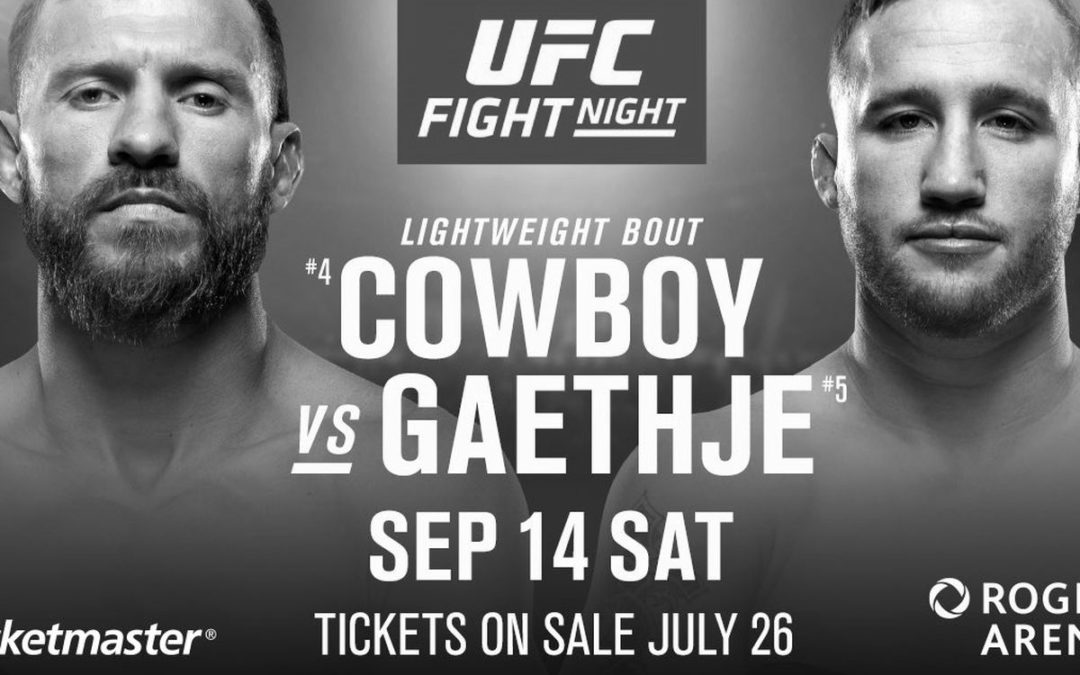 "UFC  Fight Night 158 – Justin Gaethje vs. Donald ""Cowboy"" Cerrone – Betting Predictions"