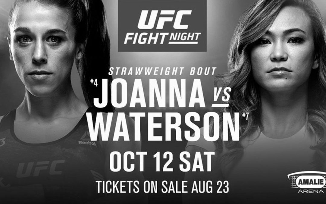 UFC Fight Night 161 – Joanna Jedrzejczyk vs. Michelle Waterson – Betting Predictions