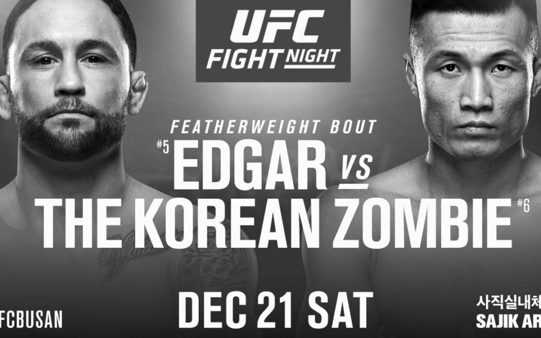 "UFC Fight Night 165 – Frankie Edgar vs. Chan ""Korean Zombie"" Sung Jung – Betting Predictions"