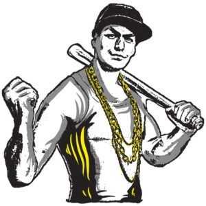 Thug With Baseball Bat