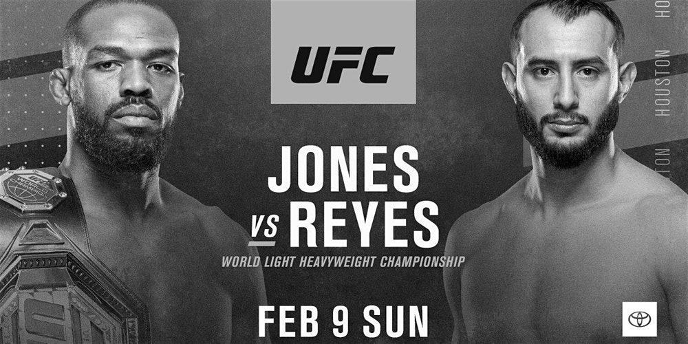 UFC 247 – Jon Jones vs. Dominick Reyes – Betting Predictions