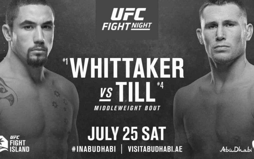 UFC on ESPN 14 – Robert Whittaker vs. Darren Till – Main Card Betting Predictions
