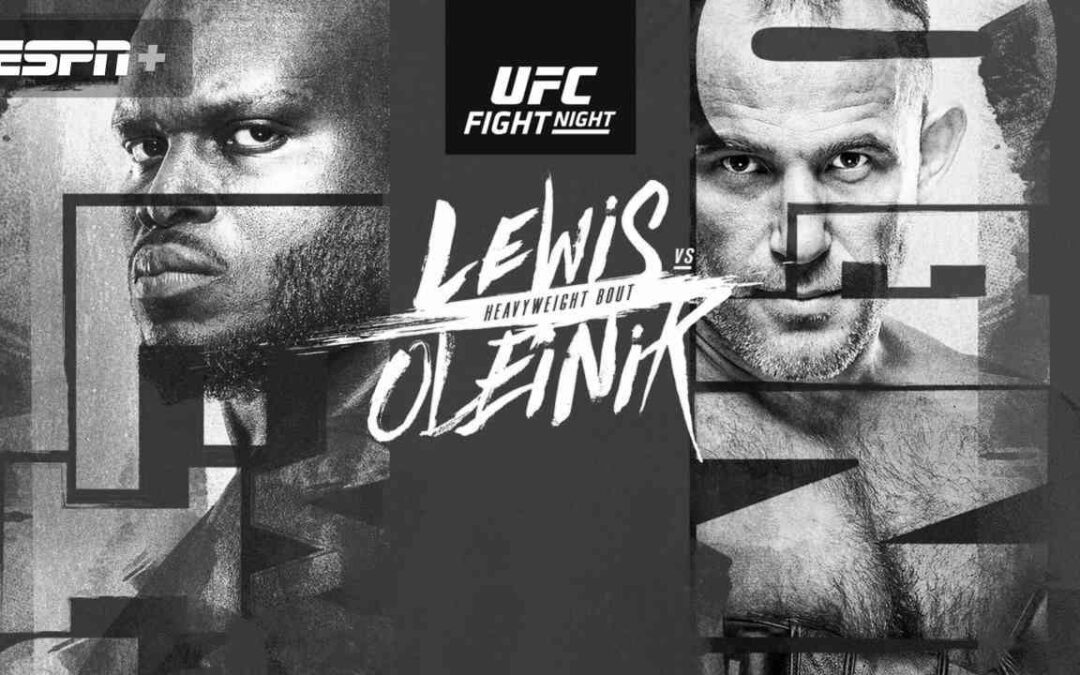 UFC Fight Night 174 – Derrick Lewis vs. Alexey Oleinik – Main Card Betting Predictions