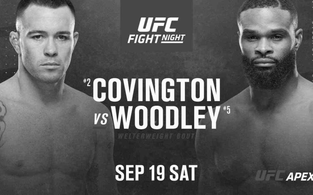 UFC Fight Night 178 – Colby Covington vs. Tyron Woodley – Main Card Betting Predictions