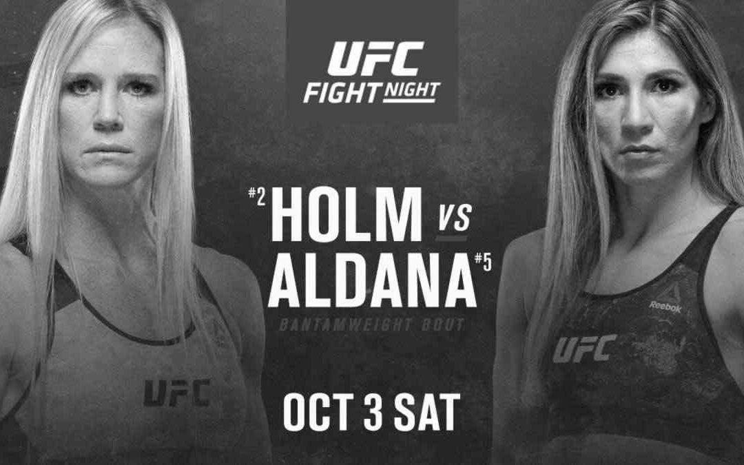 UFC on ESPN 16 – Holly Holm vs. Irene Aldana – Main Event Betting Prediction