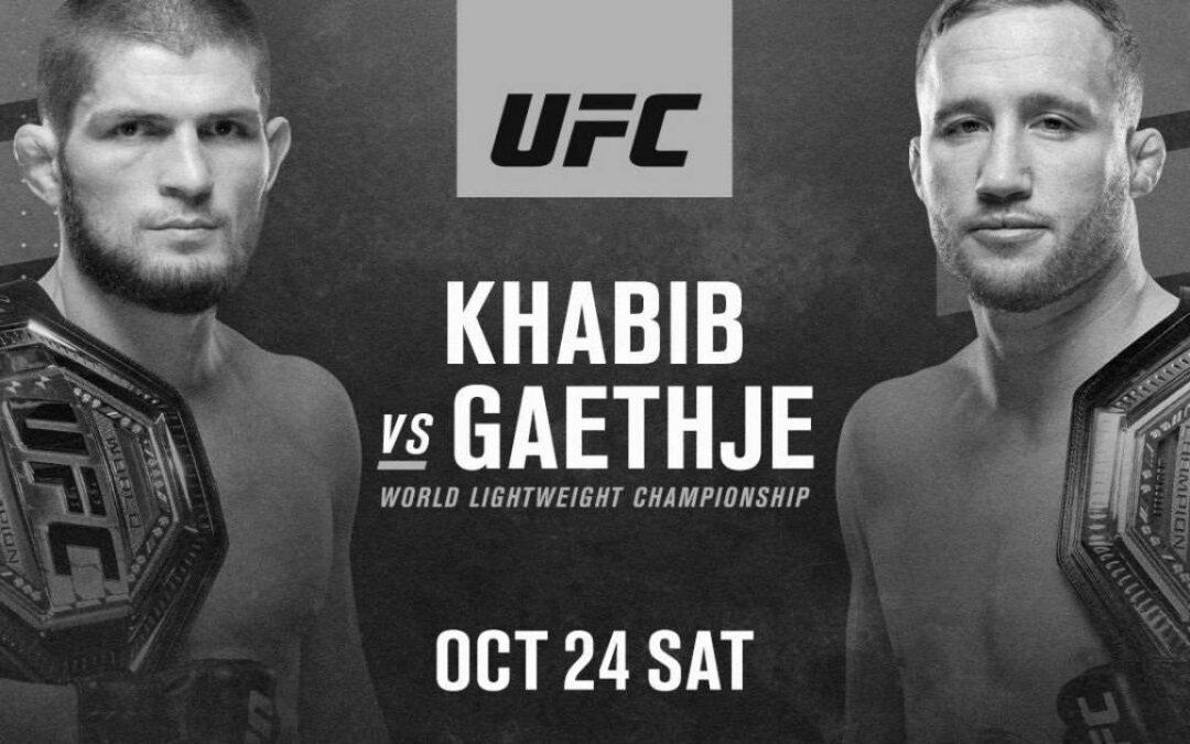 UFC 254 – Khabib Nurmagomedov vs. Justin Gaethje – Main Card Betting Predictions