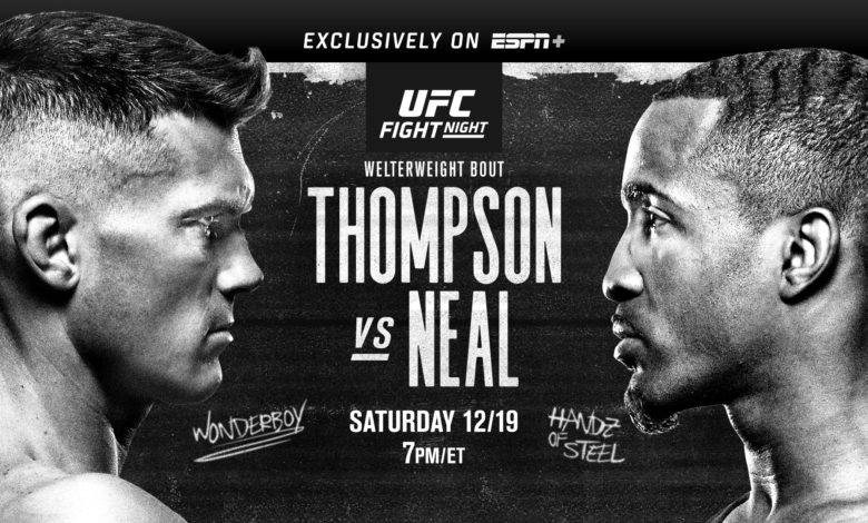 "UFC Vegas 17 – Stephen ""Wonderboy"" Thompson vs. Geoff Neal – Betting Predictions"