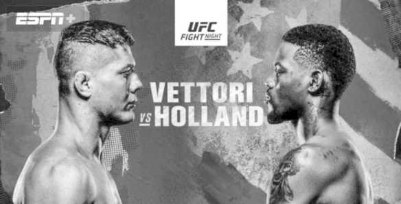 UFC Vegas 23 – Marvin Vettori vs. Kevin Holland – Main Card Betting Predictions