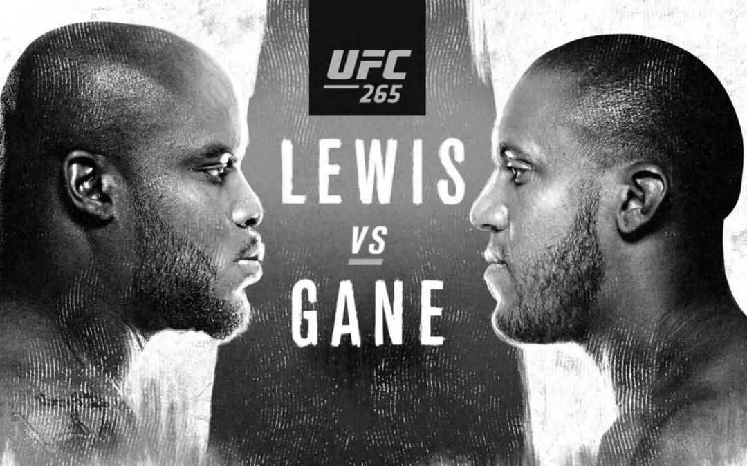 UFC 265 – Derrick Lewis vs. Cyril Gane – Main Card Betting Predictions